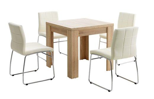 Spisebordssæt fra JYSK - Se udvalget af spisebordssæt her