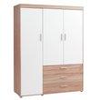 JYSK, Szafa SLAGELSE 3 drzwi dąb/biała,  1099,-