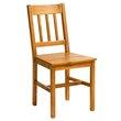 JYSK, Krzesło TYLSTRUP sosna k.kawy,  85,-