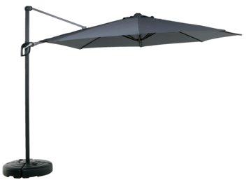 Hanging parasol TRONDHEIM D300cm alu