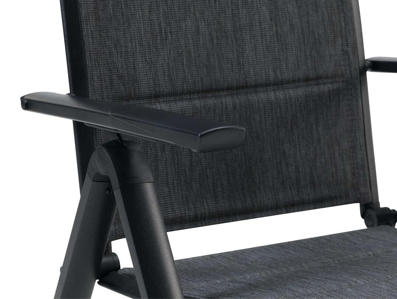 Regulerbar stol MYSEN grå   JYSK