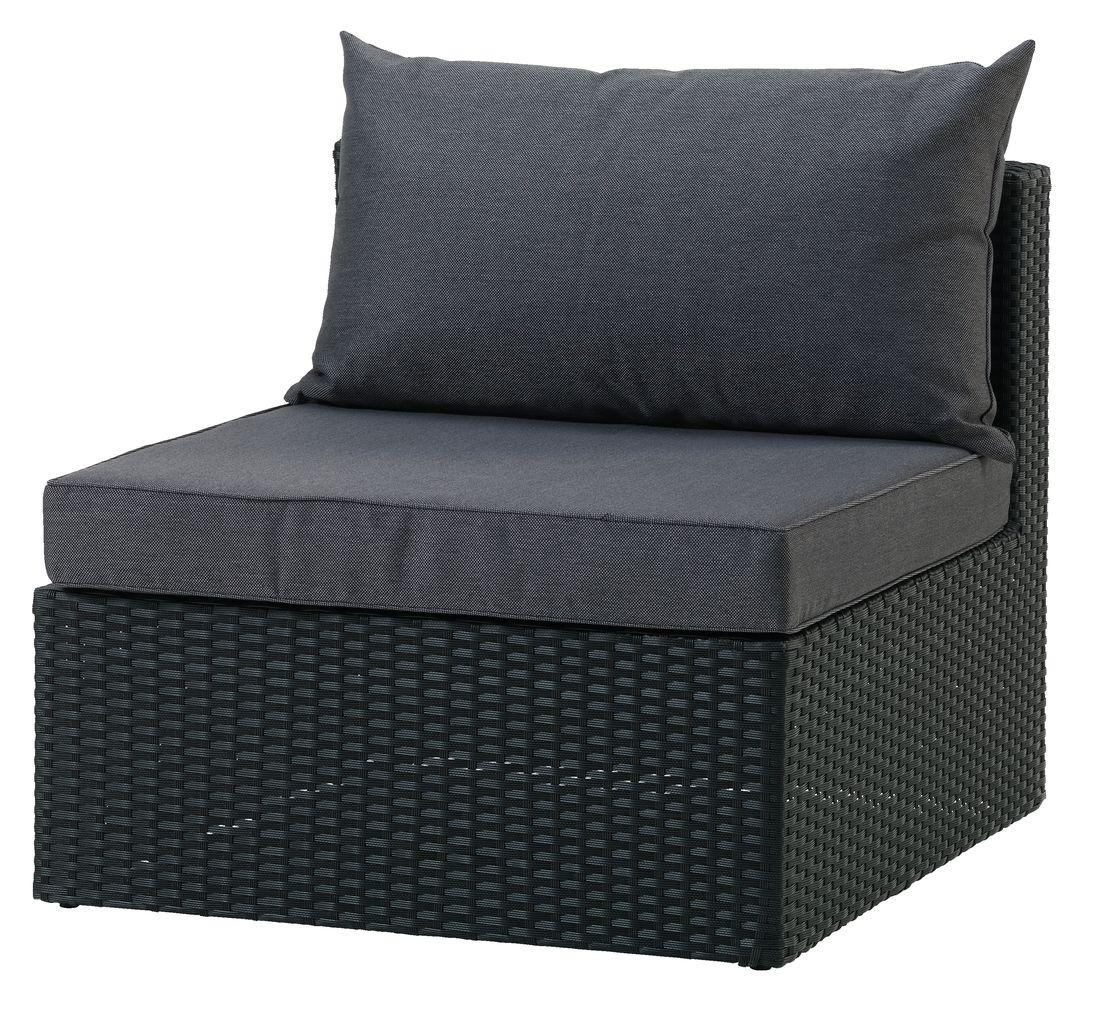 Luxe Loungeset Zwart.Loungeset Bastrup Middenmodule Zwart