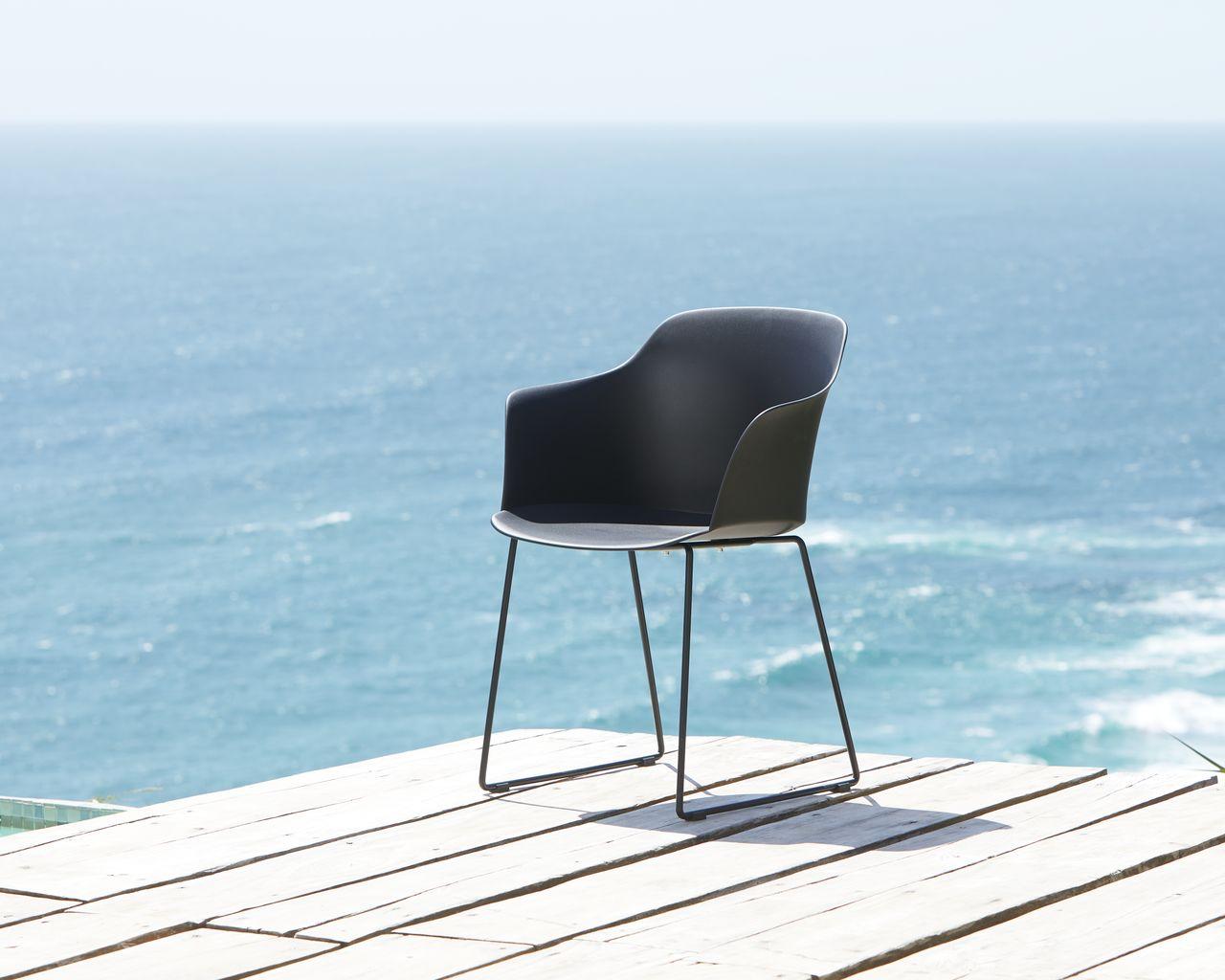 Stol SANDVED svart | JYSK