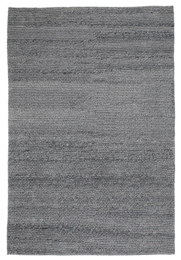 Rug RABBESIV 160x230 melange grey   JYSK