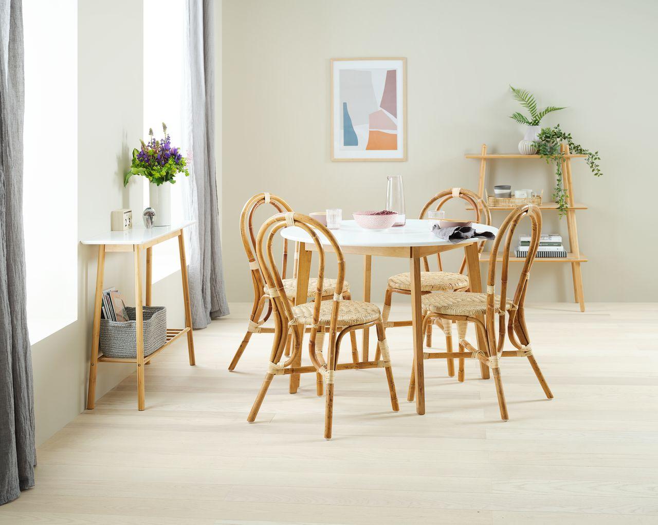 Jysk - blagovaonska stolica od ratana