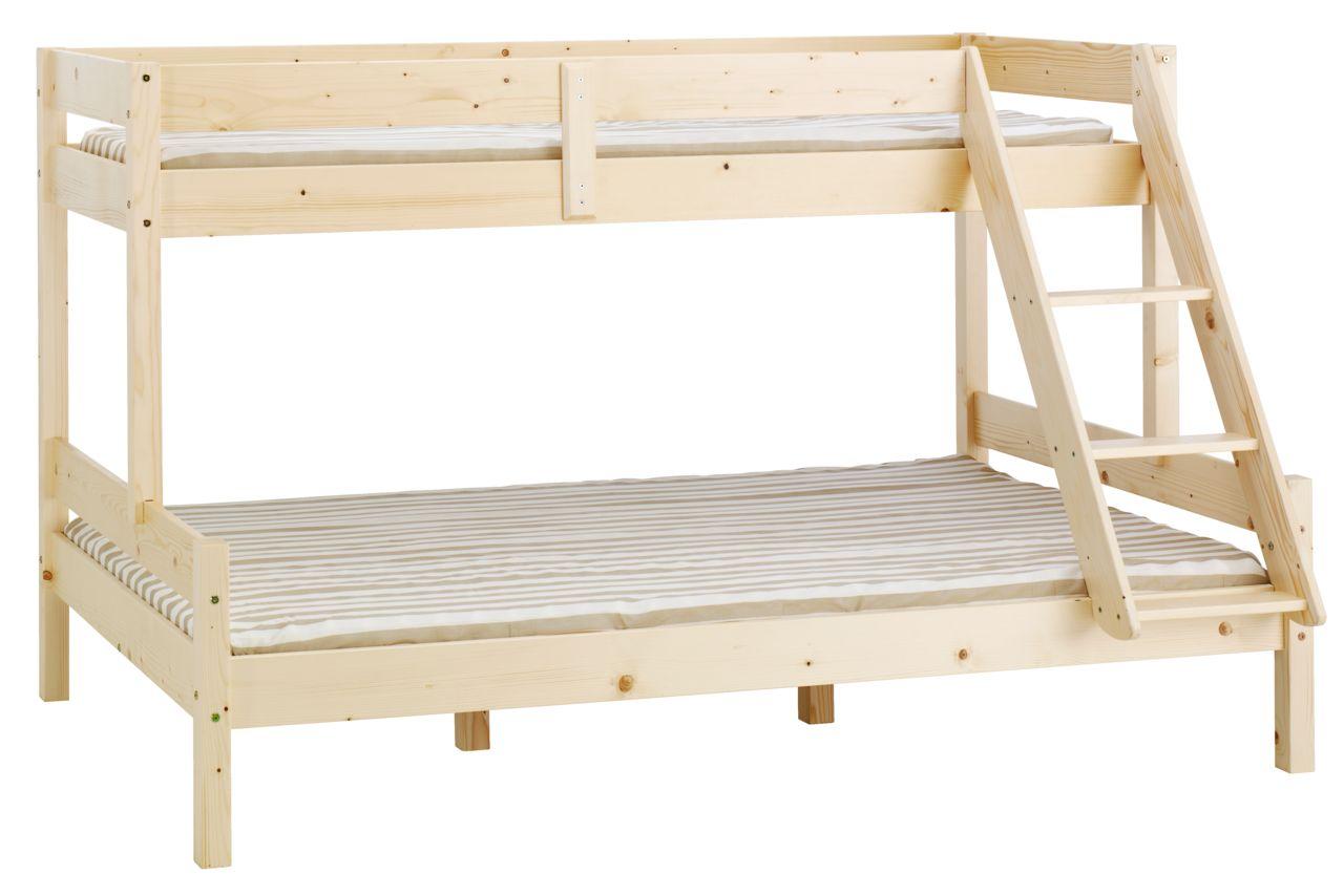 Våningssäng VESTERVIG 80 120×200 natur JYSK