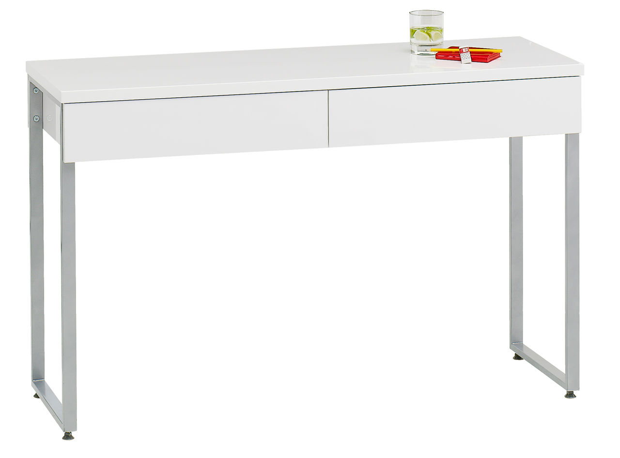 skrivebord jysk Skrivebord STEGE 40x120 hvid højglans | JYSK skrivebord jysk