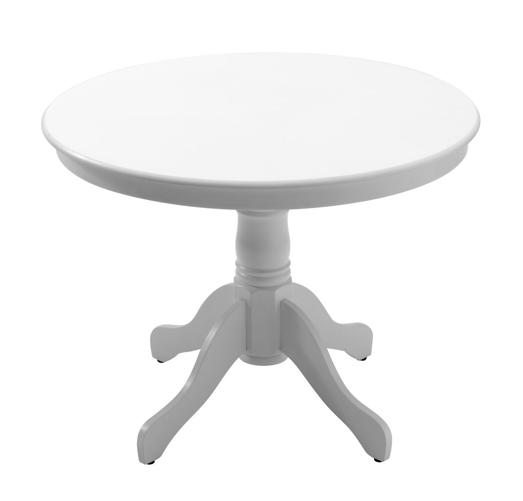 Dining table ASKEBY D100 white JYSK