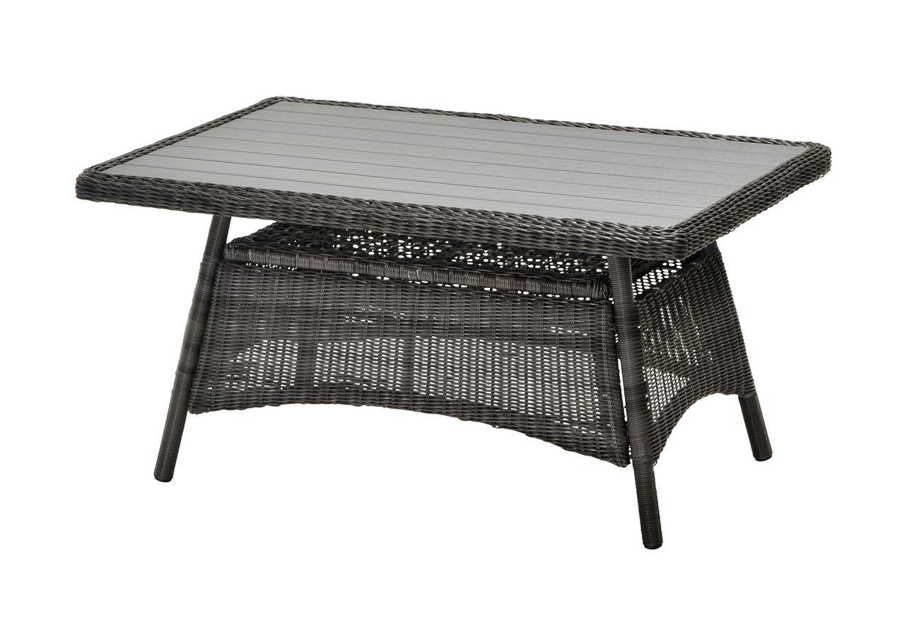 Loungebord FALKENBERG B81xL124 grå