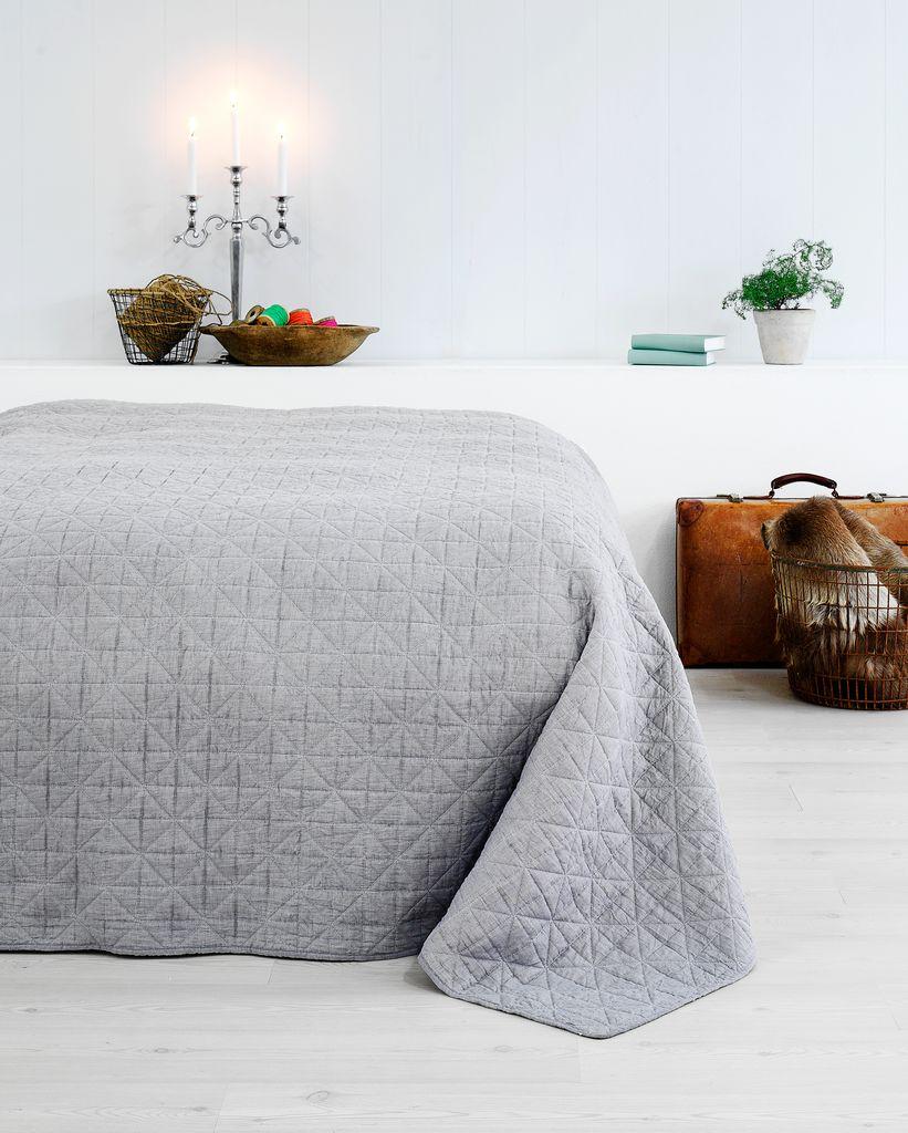 jysk sengetæppe Sengetæppe HIRSHOLM 220x240 grå | JYSK jysk sengetæppe