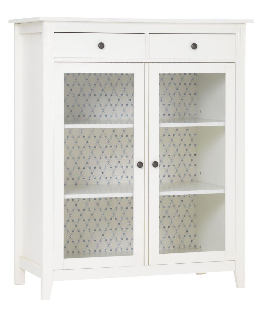cabinet aulum 2 doors white - Bathroom Cabinets Jysk