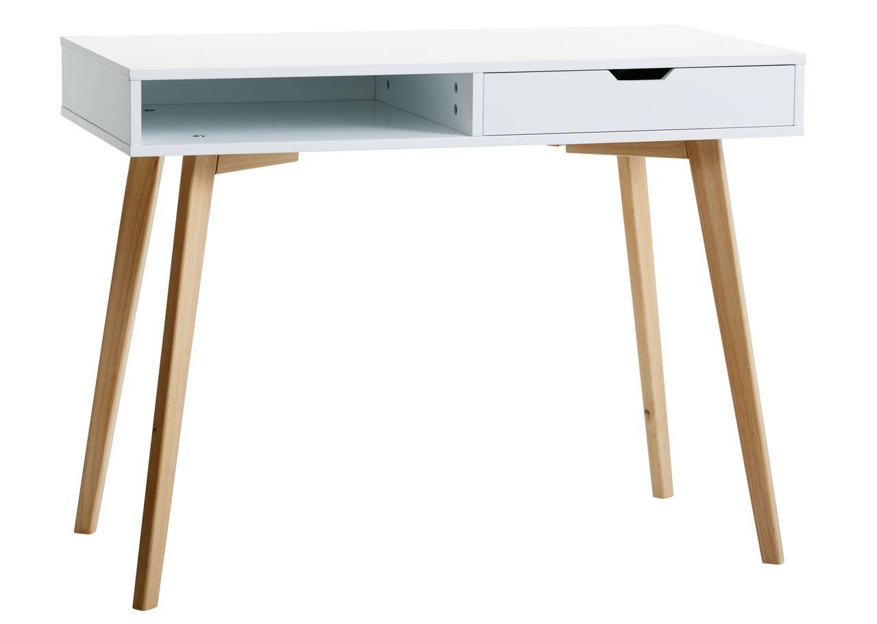 skrivebord jysk Skrivebord TAMHOLT 50x100 hvid/eg | JYSK skrivebord jysk