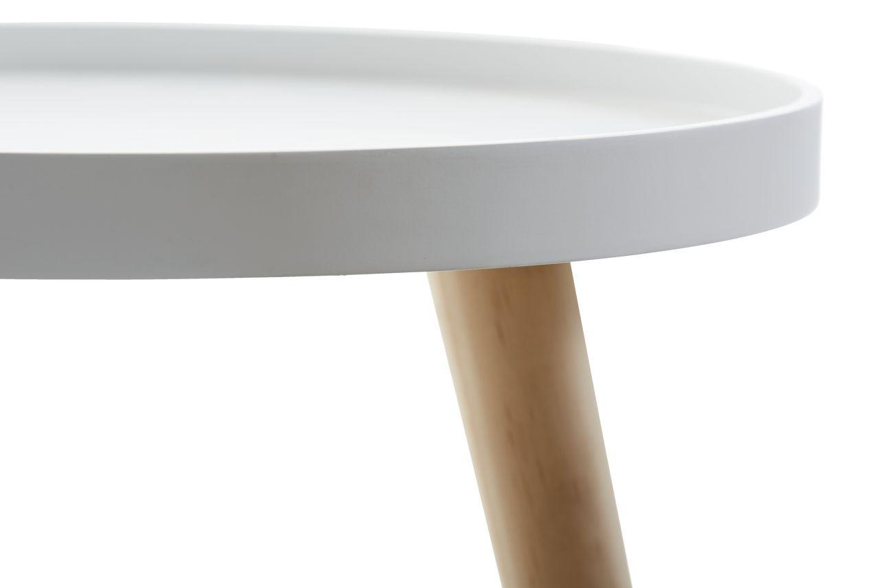 Tálca asztal BAKKEBJERG ÁTM40 fehér | JYSK