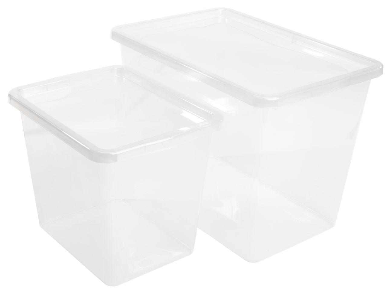 Tároló doboz BASIC BOX 80 liter tetővel f4b8b45b66