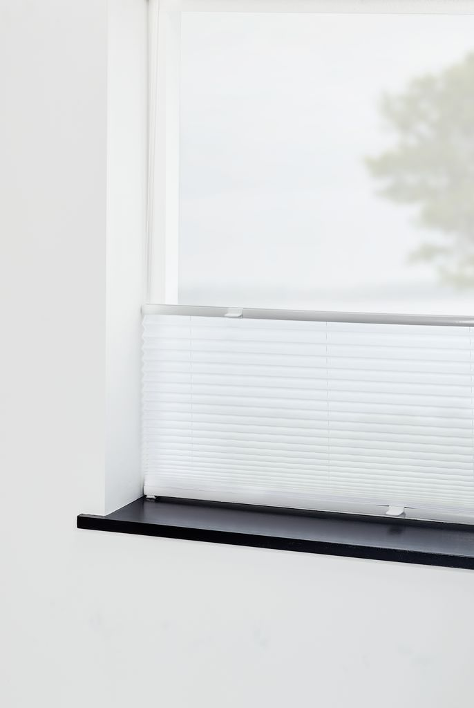 Alvorlig Plisségardin LOVUND 105x130cm hvid | JYSK CF77