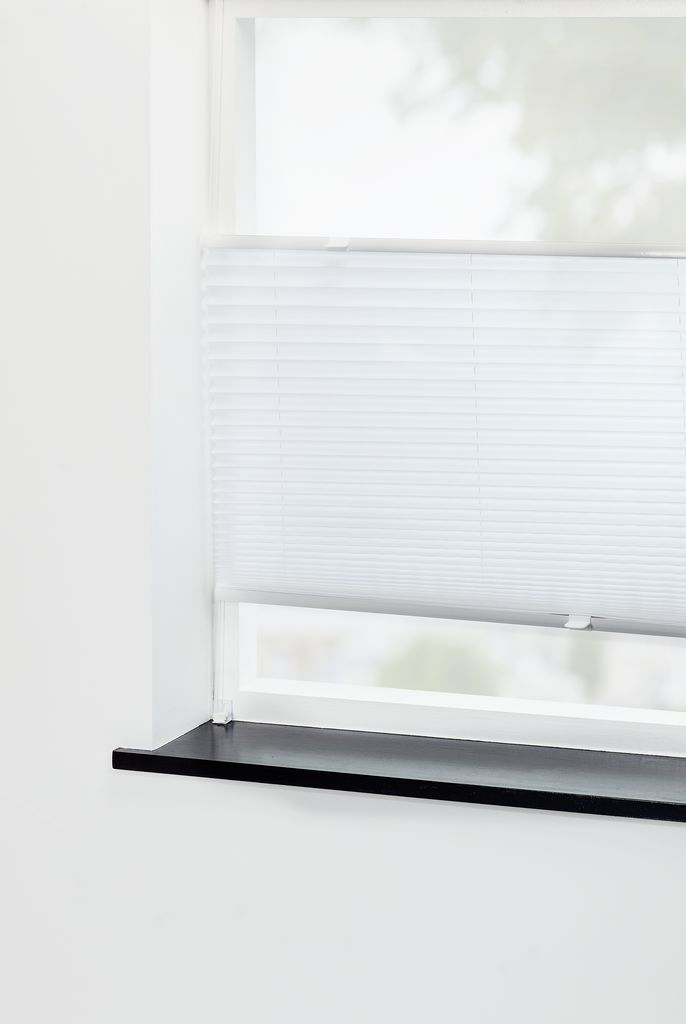 Seriøst Plisségardin LOVUND 105x130 hvit | JYSK DK-69
