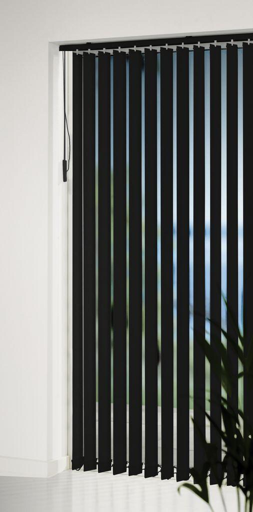 Vertical Blind Feragen 200x250cm Black Jysk