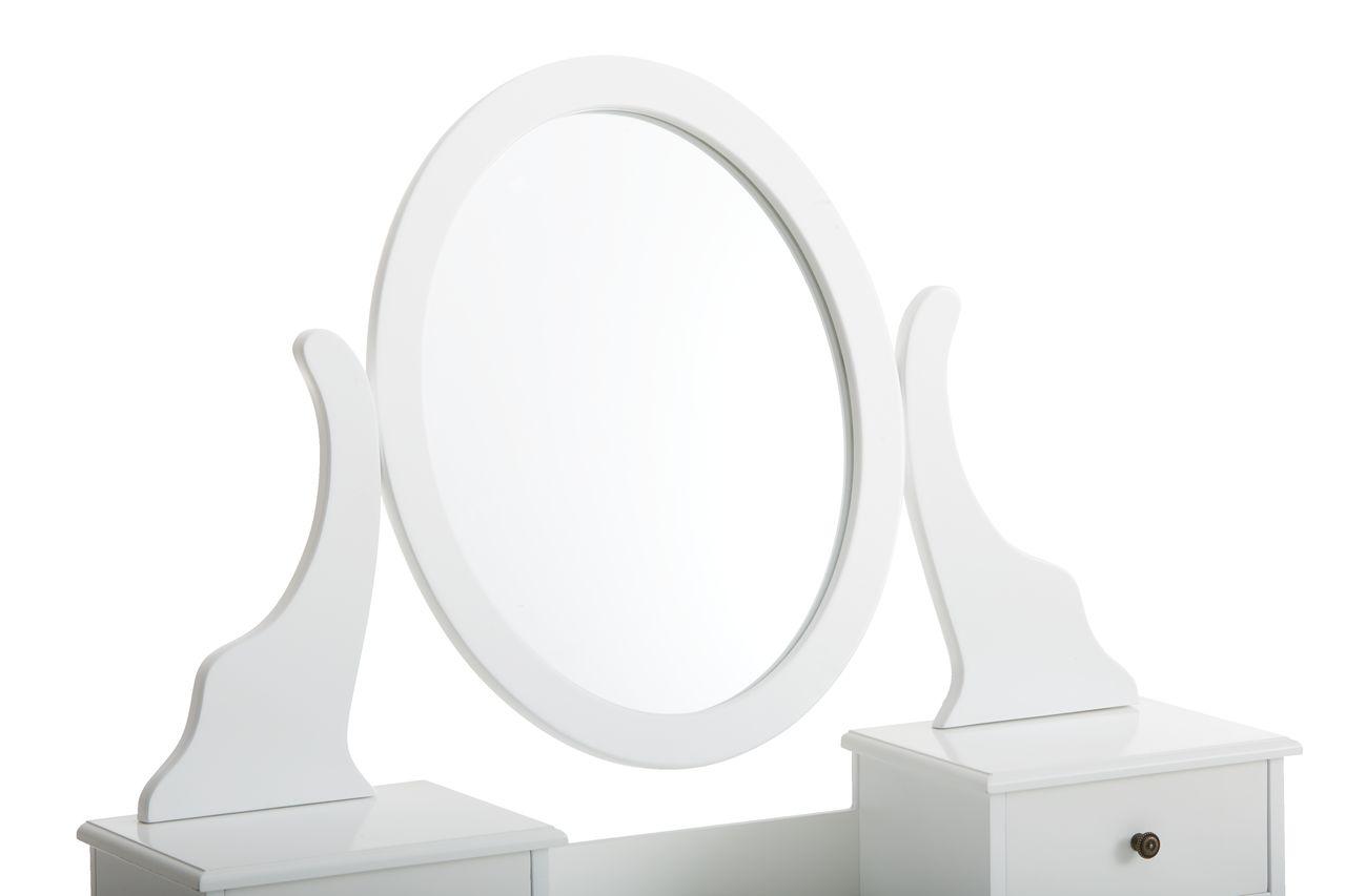 Kaptafel Met Spiegel : Kaptafel malling m spiegel wit jysk