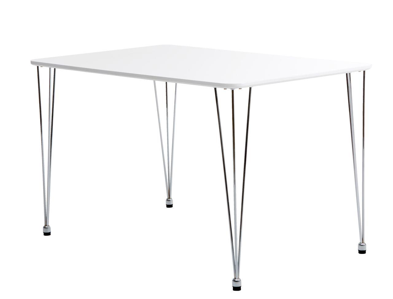spisebord jysk Spisebord BANNERUP 76x120 hvid/krom | JYSK spisebord jysk