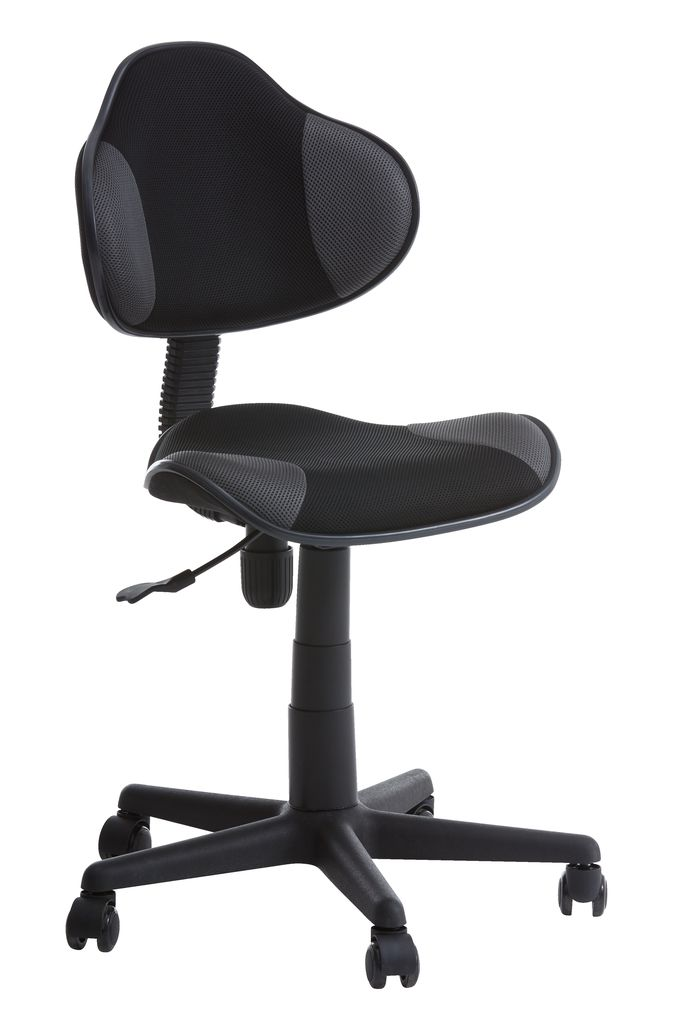 Office Chair Regstrup Black Grey