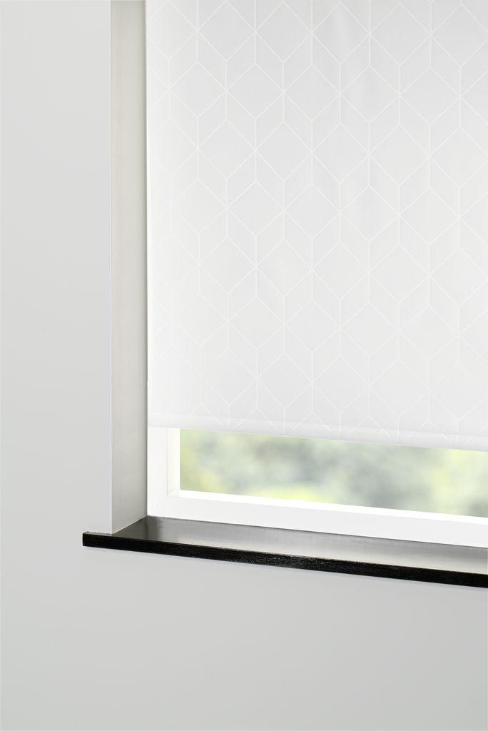 Blackout Blind Havstarr 120x170cm O Wht Jysk