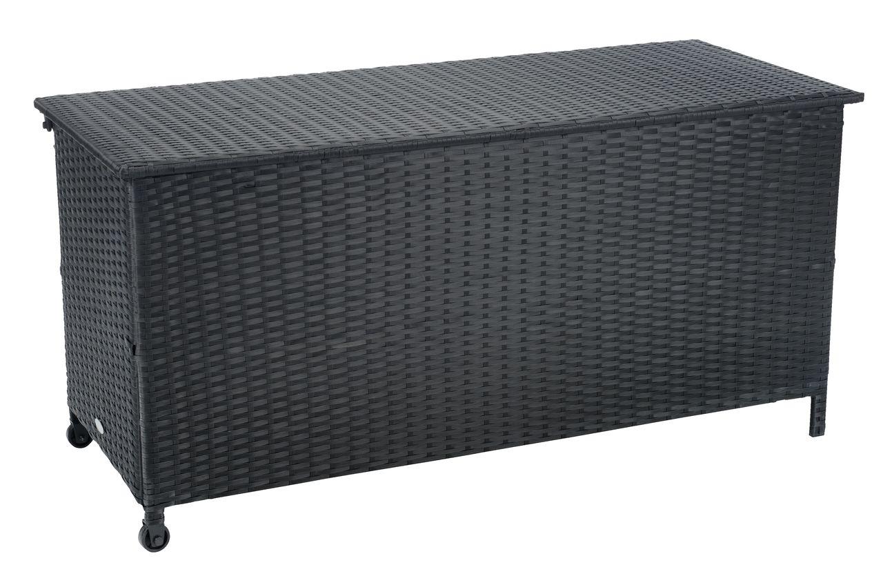 Cushion box yderup w133xh64xd56 black
