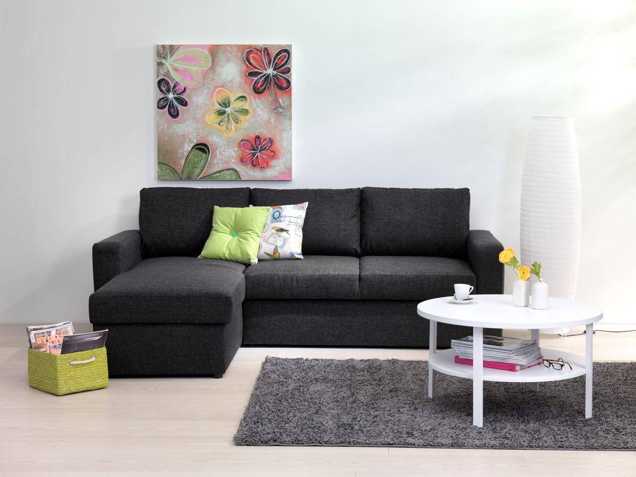 Soffbord SKIBBY mhylla svart | JYSK | Soffbord, Kaffebord