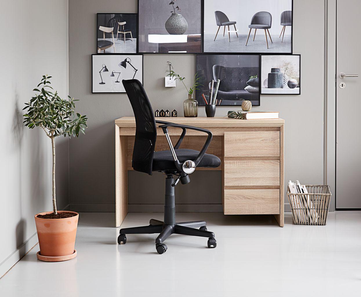 Svart kontor kön