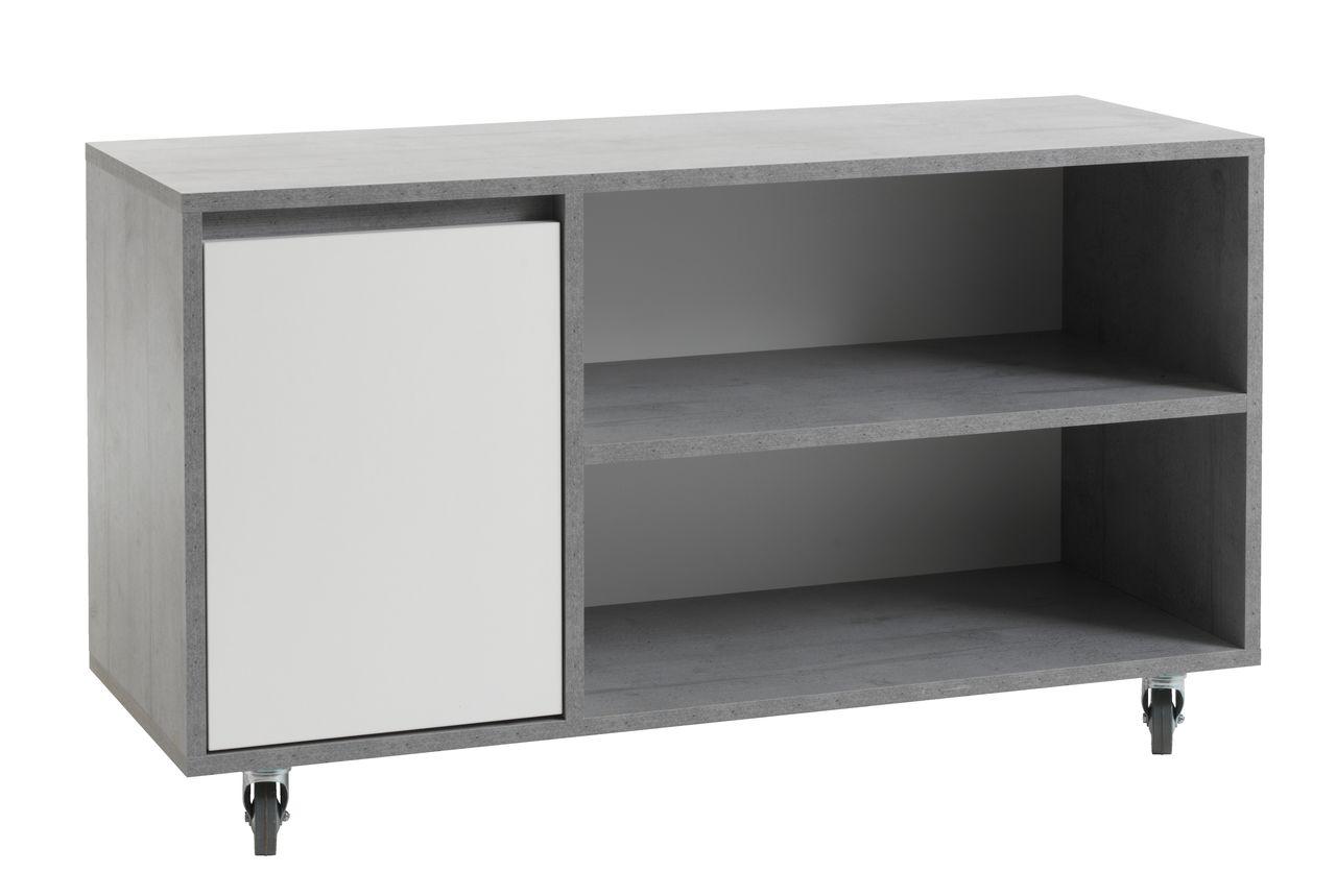 Tv meubel billund wit betonlook jysk