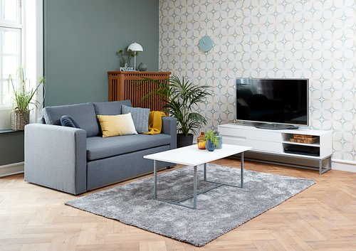 Coffee table ESBJERG 60x110 cm white