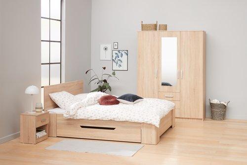 Рамка за легло HALD 160x200 дъб
