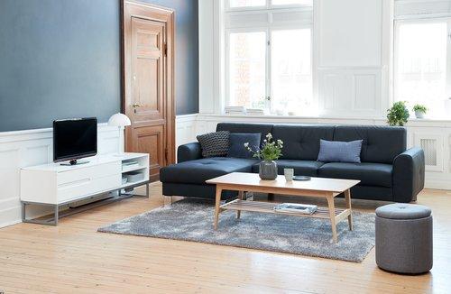 TV-taso ESBJERG 2 laatikkoa valk.