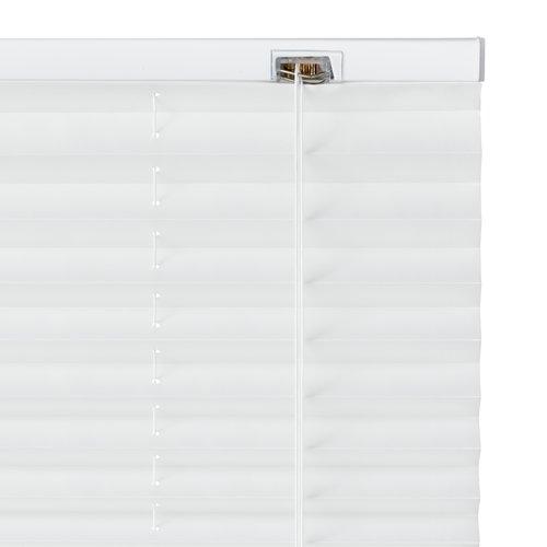 Plisségardin SALTHOLM 80x130 hvit