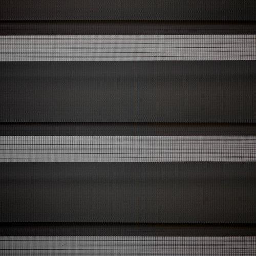 Rolgordijn Duo ALSTEN 120x180 zwart