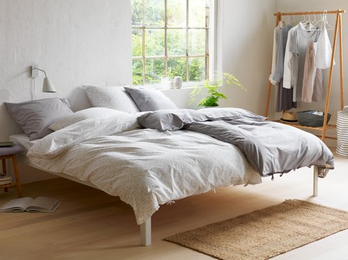 Bedding set AYA Organic SGL SENSE grey