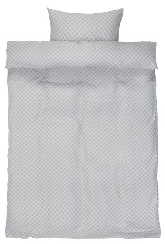 Sengesæt BEATE krep SGL grå