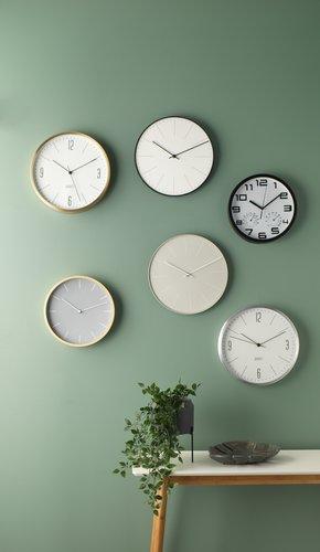 Wall clock SEJER D25cm ass.