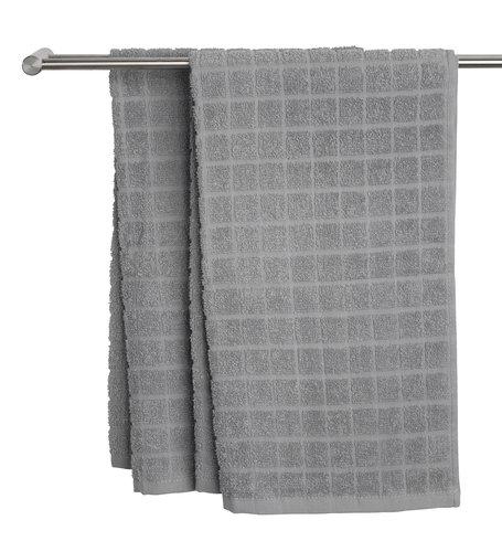 Håndklæde KARBY lysegrå
