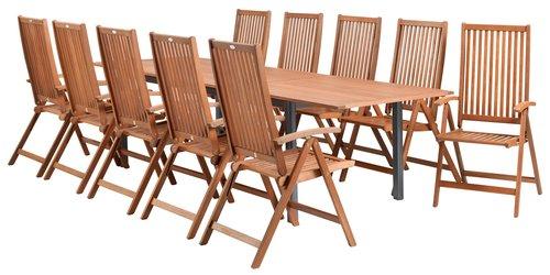 YTTRUP 210/300 lemn+4 KAMSTRUP lemn