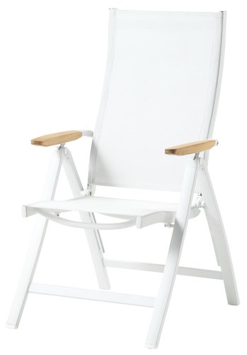 Recliner chair VEDBY white