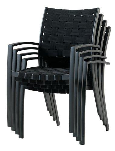MAMRELUND L195 grå + 4 JEKSEN svart