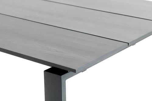 Table KOPERVIK W100xL215 grey