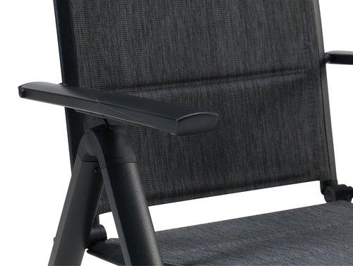 Krzesło pozycyjne MYSEN szare