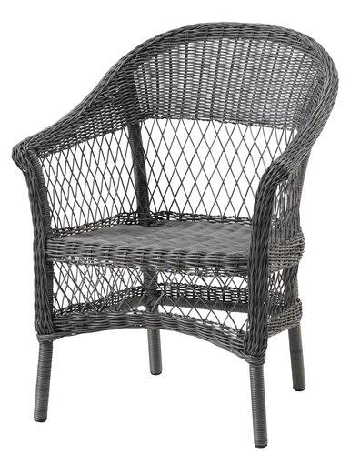 Stohovací židle MAGLEBJERG šedá