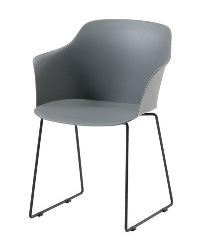 Stol SANDVED grå