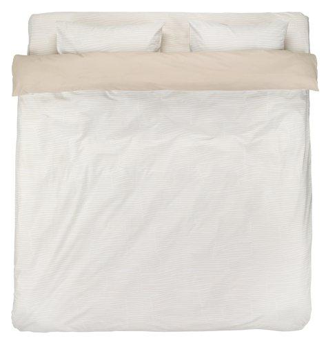 Lenjerie de pat+cearsaf ANDREA dublă