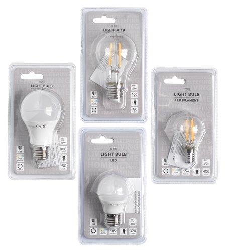 Λαμπτήρας TORE 4W E27 LED 320 lumen