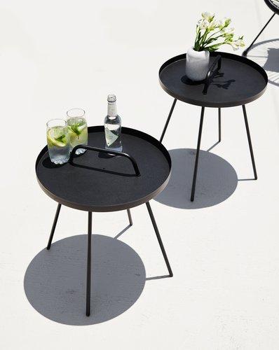 Beistelltisch IDRE Ø45x52 schwarz