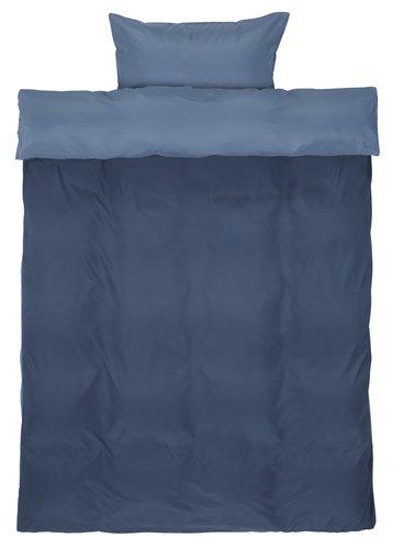 Sengesett CATERINA mikrofiber blå
