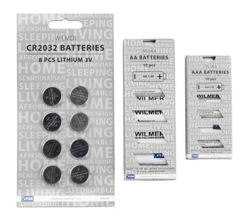 Batterien WILMER CR2032 8 Stk/Pck